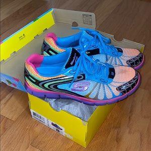 Skechers flex Mult Running Wild shoes size 8